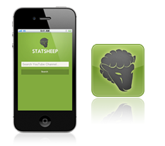 StatSheep app on iOS and Android devices